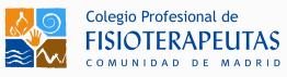 Sello Colegio Profesionla De Fisioterapeutas De La Comunidad De Madrid